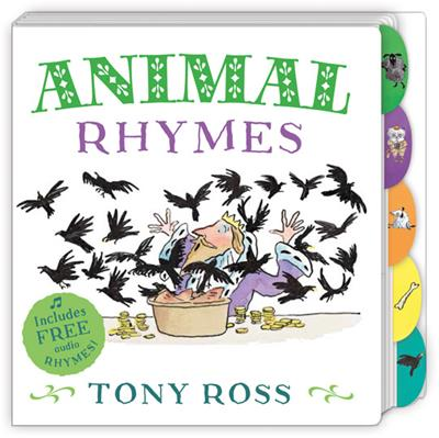 My Favourite Nursery Rhymes Board Book: Animal Rhymes
