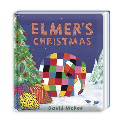 Elmer's Christmas: Board Book