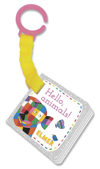 Elmer: Hello, animals!: buggy book
