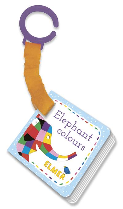 Elmer: Elephant Colours: buggy book