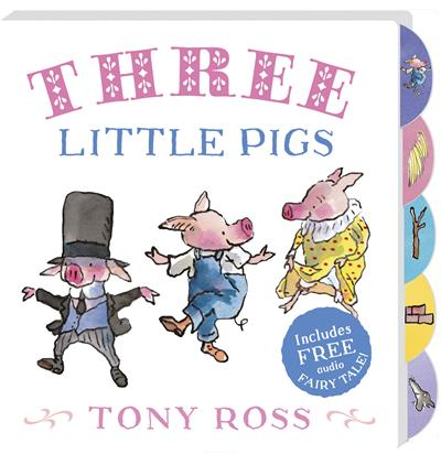 Three Little Pigs: My Favourite Fairy Tales Board Book