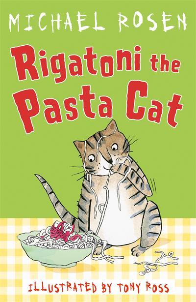 Rigatoni the Pasta Cat