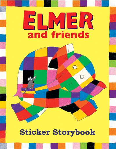 Elmer and Friends Sticker Storybook