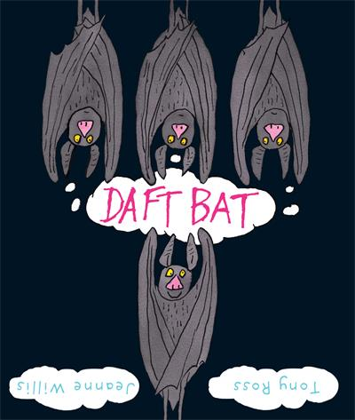 Daft Bat: Glow-in-the-dark cover