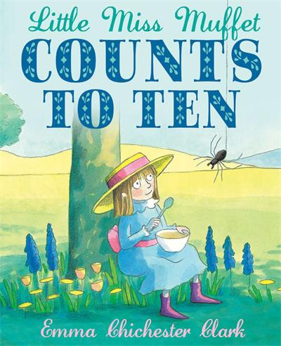 Little Miss Muffet Counts to Ten