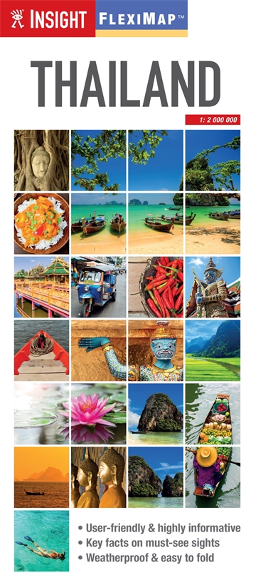 Insight Guides Flexi Map Thailand | Insight Guides: trips ... on
