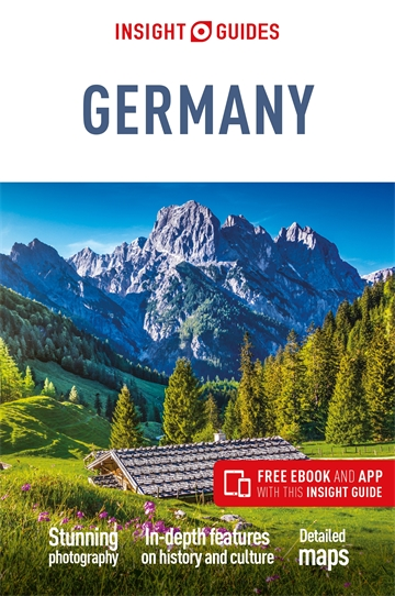 Map Of Germany Landforms.Insight Guides Germany Insight Guides Private Trips Guidebooks