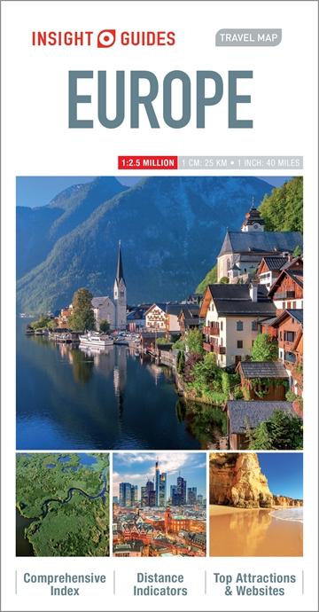 Insight Guides Travel Map Croatia