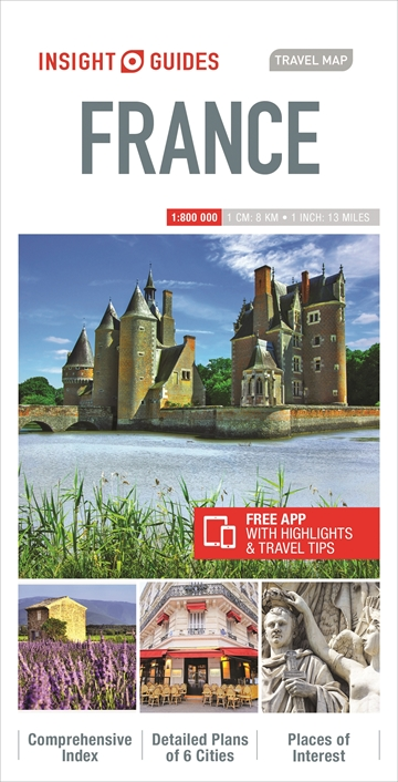 Map Of France Detailed.Insight Guides Travel Map France Map Of France Insight Guides