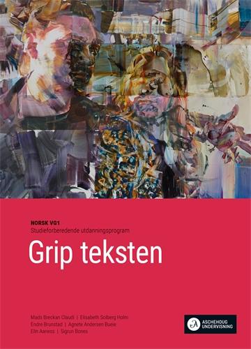 Bokomslag Grip teksten Vg1 Unibok