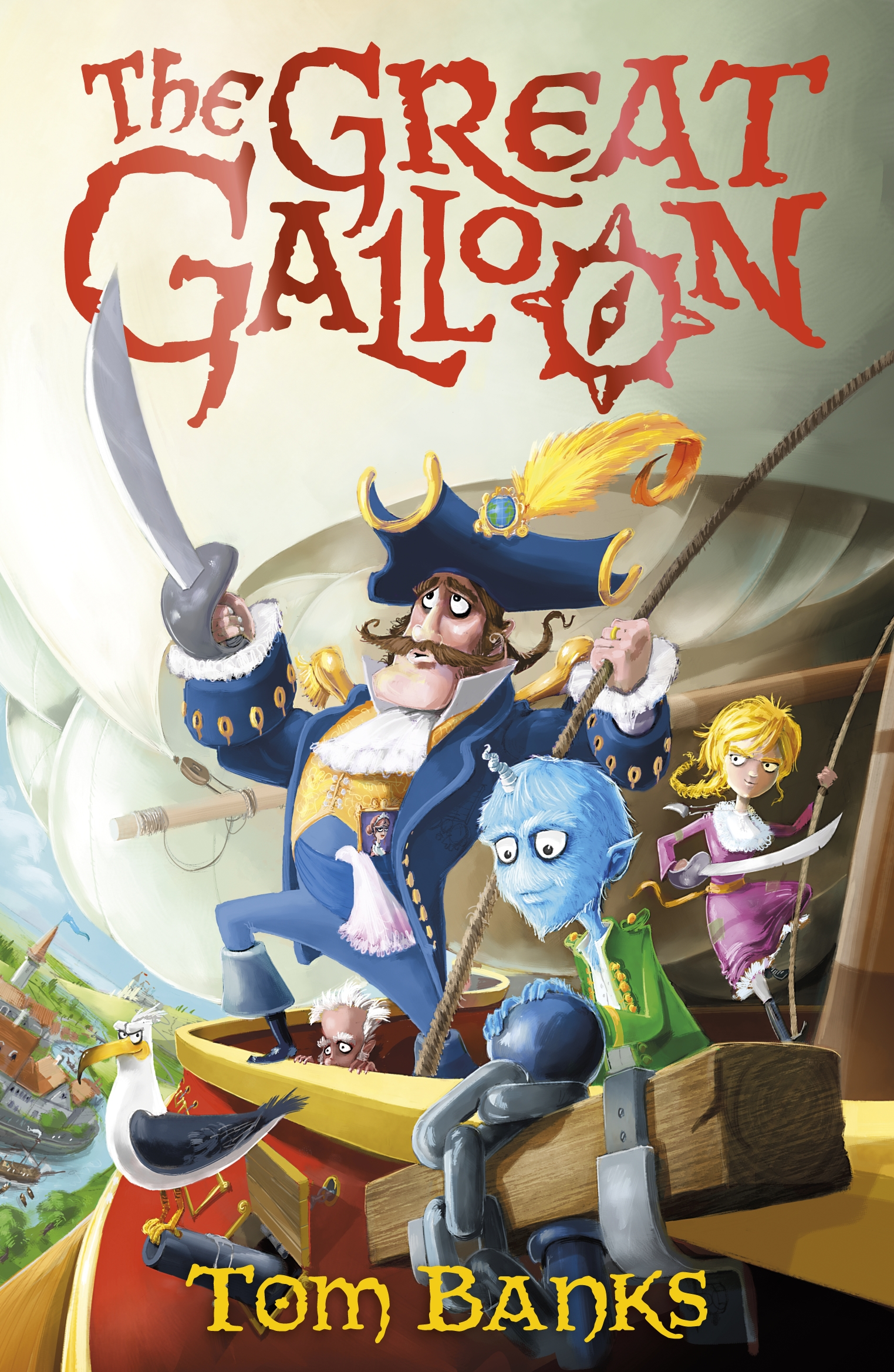 The Great Galloon by Tom Banks
