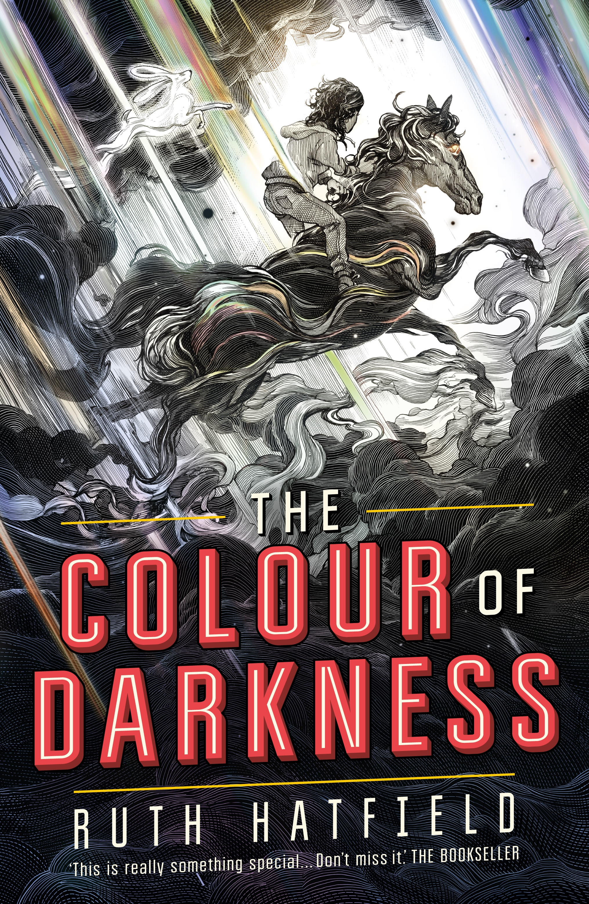 The Colour of Darkness by Ruth Hatfield