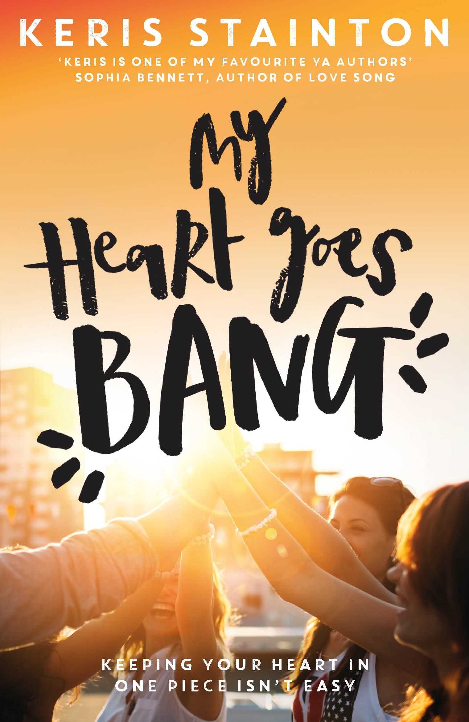 My Heart Goes Bang by Keris Stainton