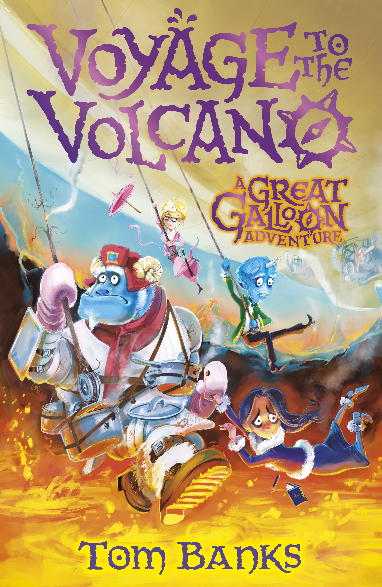 Voyage to the Volcano by Tom Banks