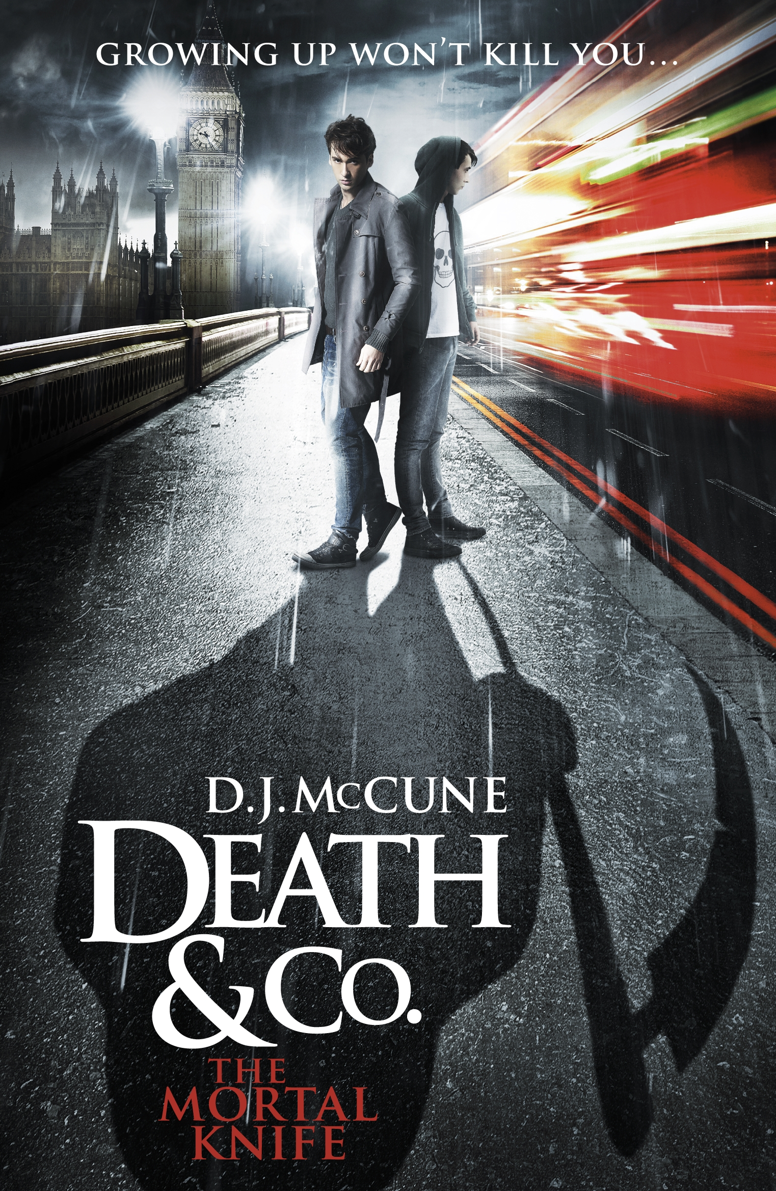 The Mortal Knife by D. J. McCune