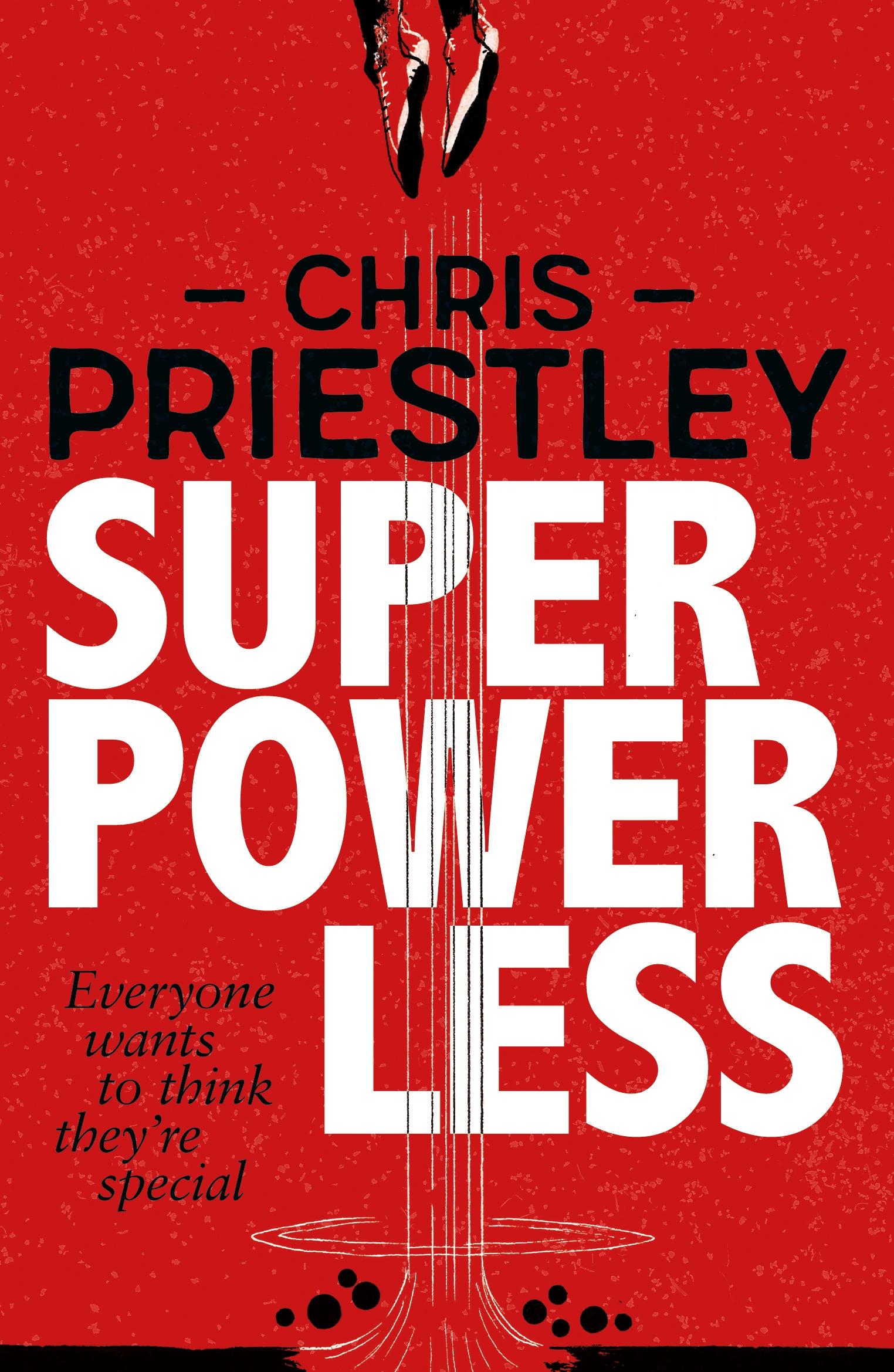 Superpowerless by Chris Priestley