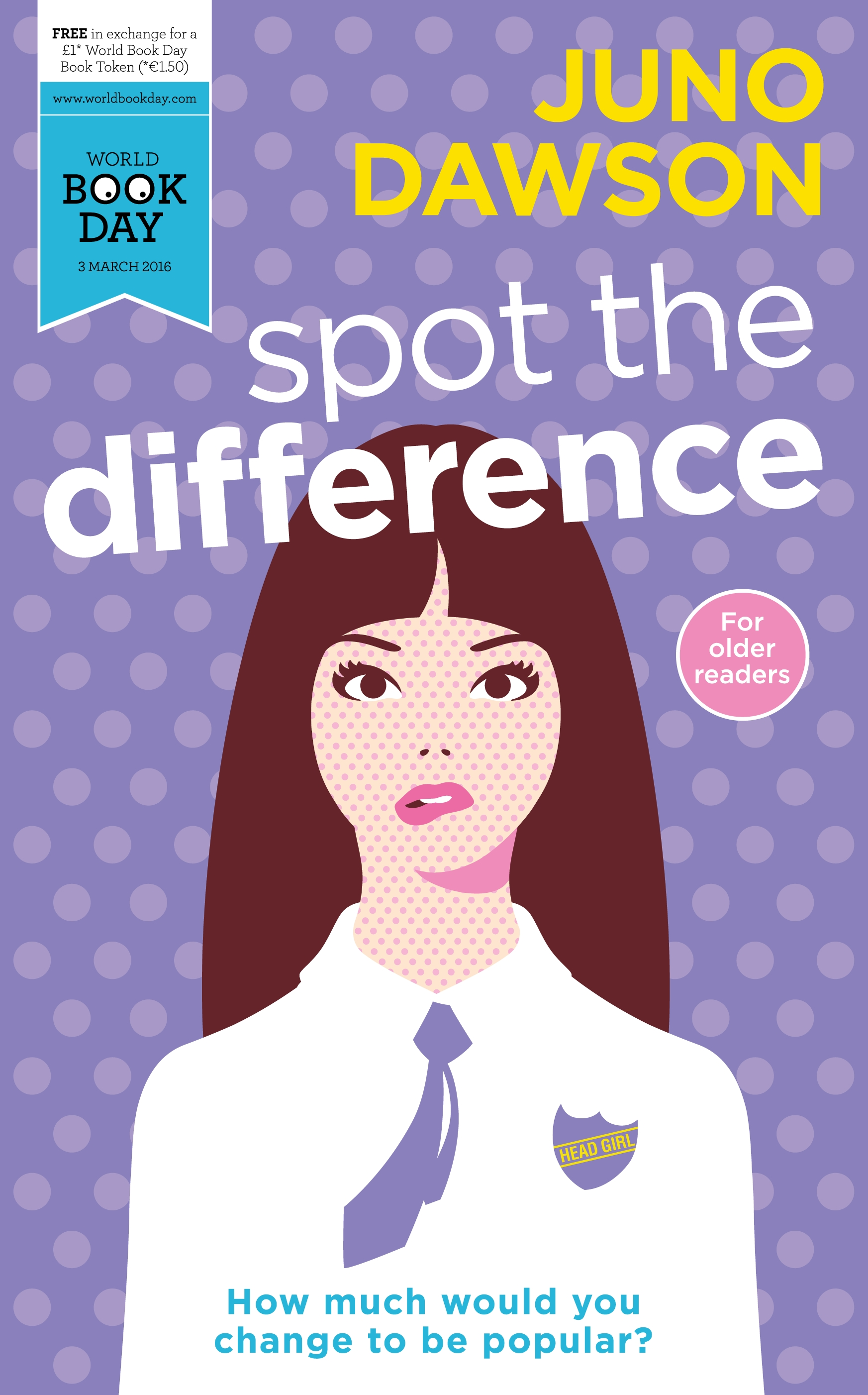 Spot the Difference by Juno Dawson