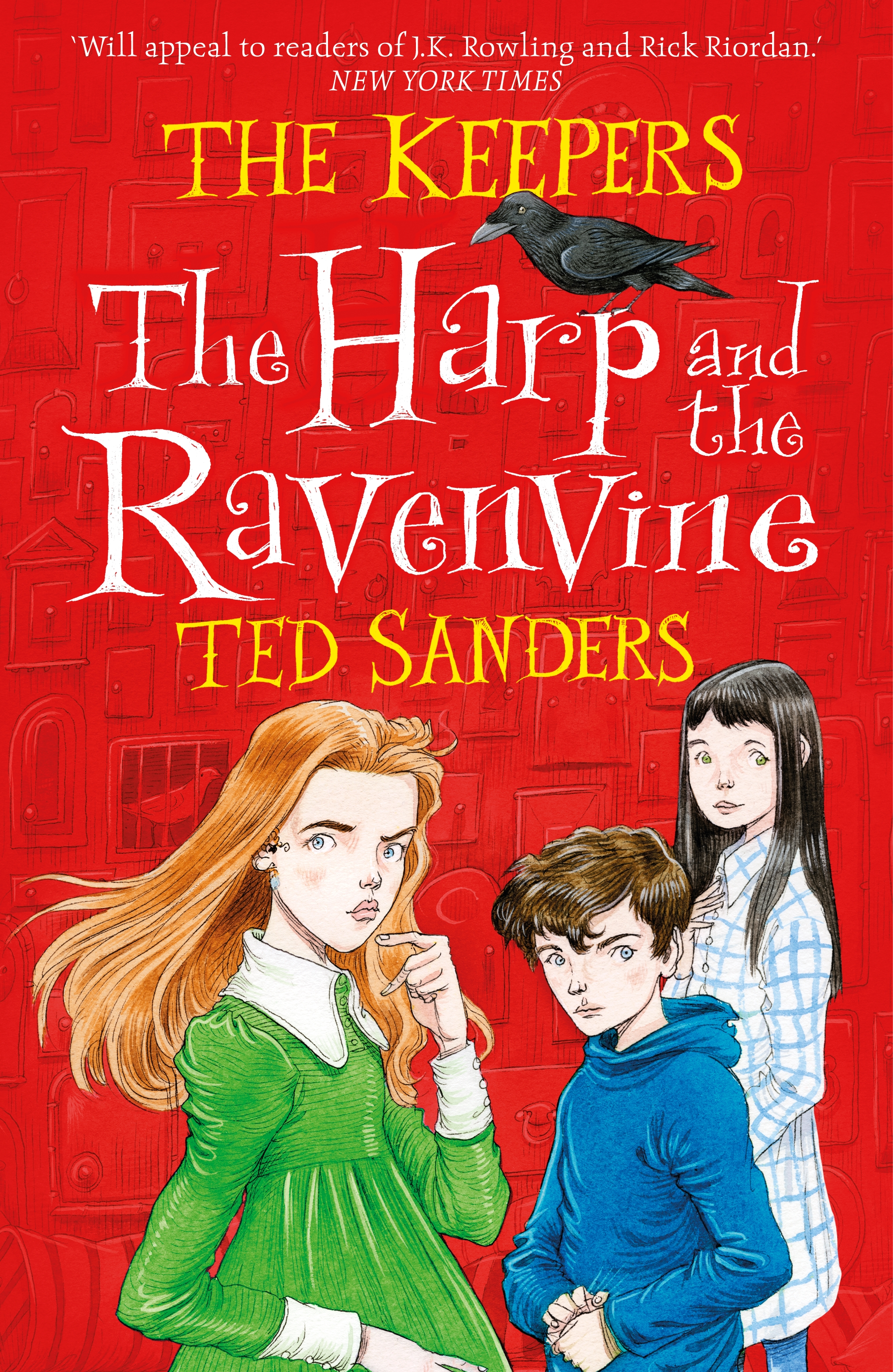 The Harp and the Ravenvine by Ted Sanders