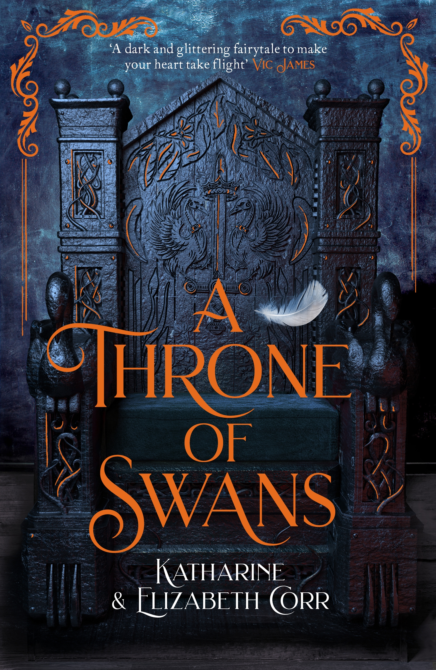 A Throne of Swans by Katharine & Elizabeth Corr