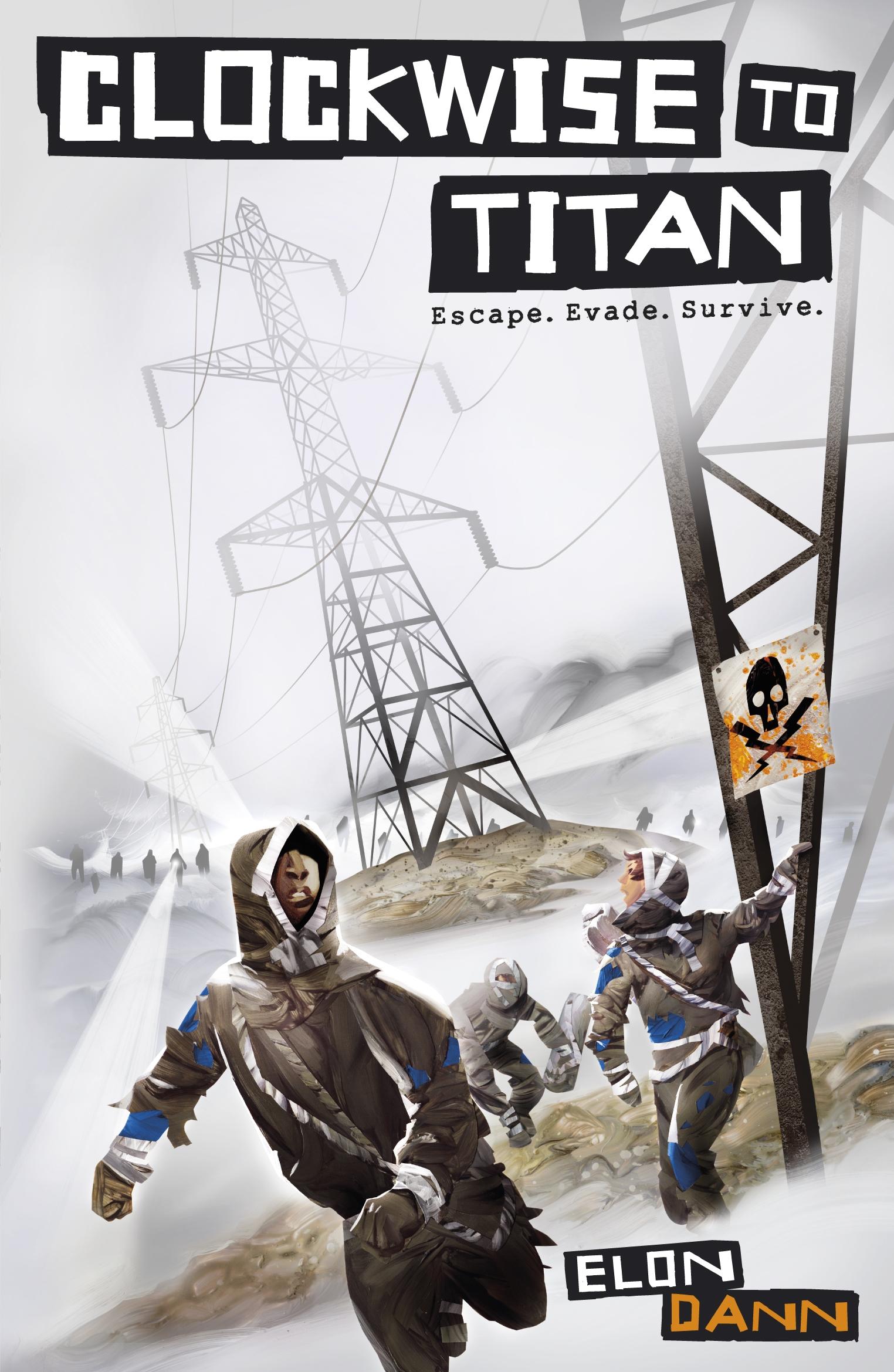 Clockwise to Titan by Elon Dann
