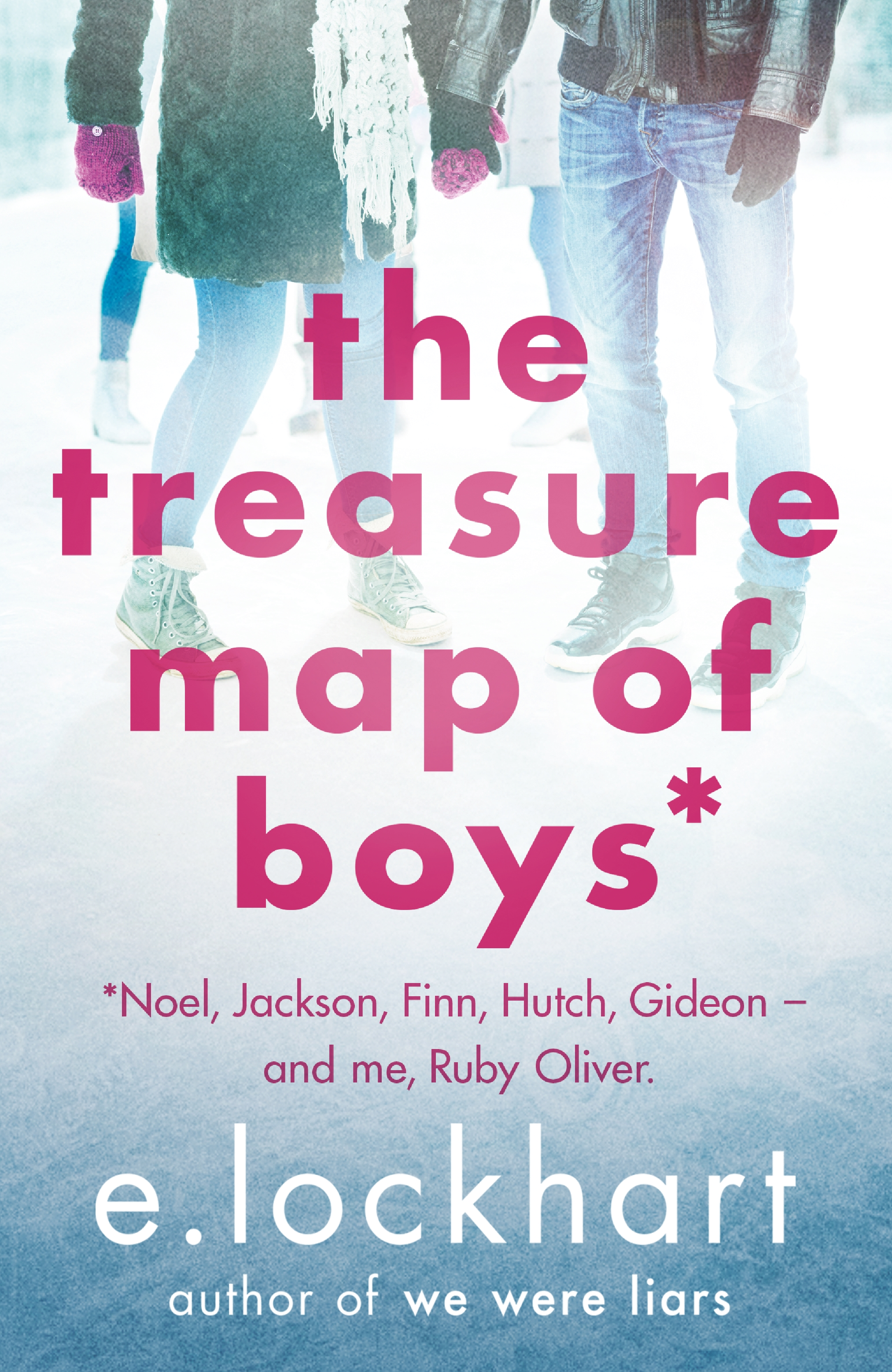 Ruby Oliver 3: The Treasure Map of Boys by E. LockhartEmily Jenkins