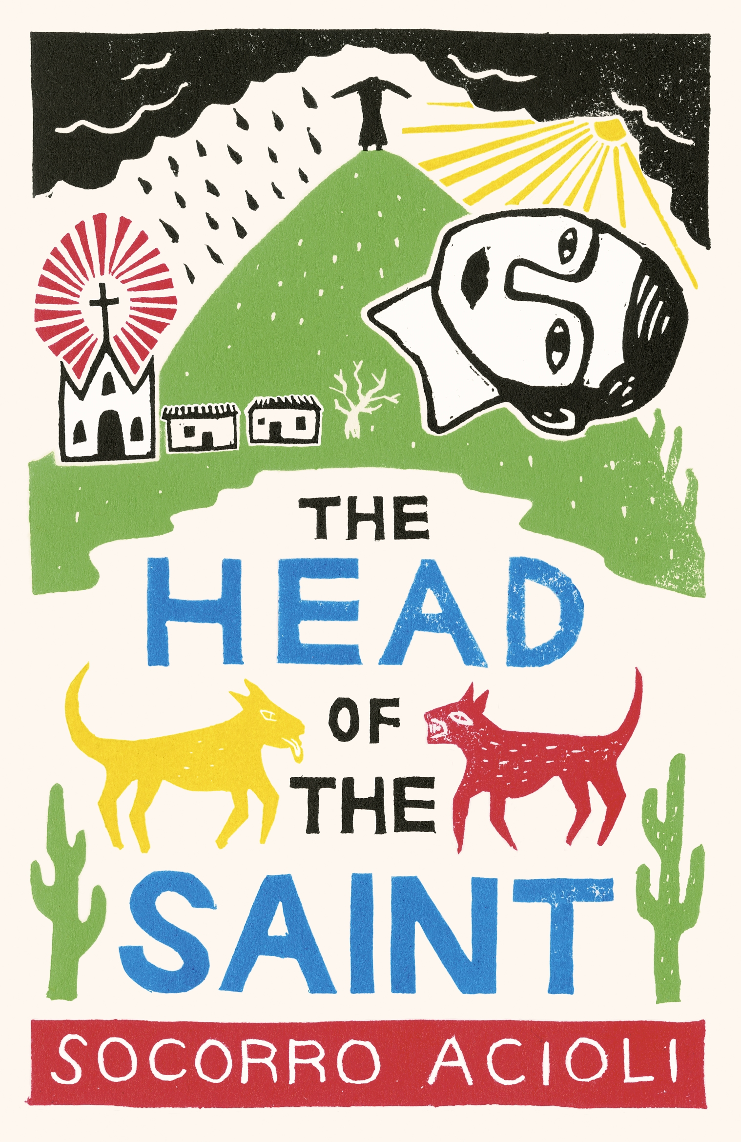 The Head of the Saint by Socorro Acioli