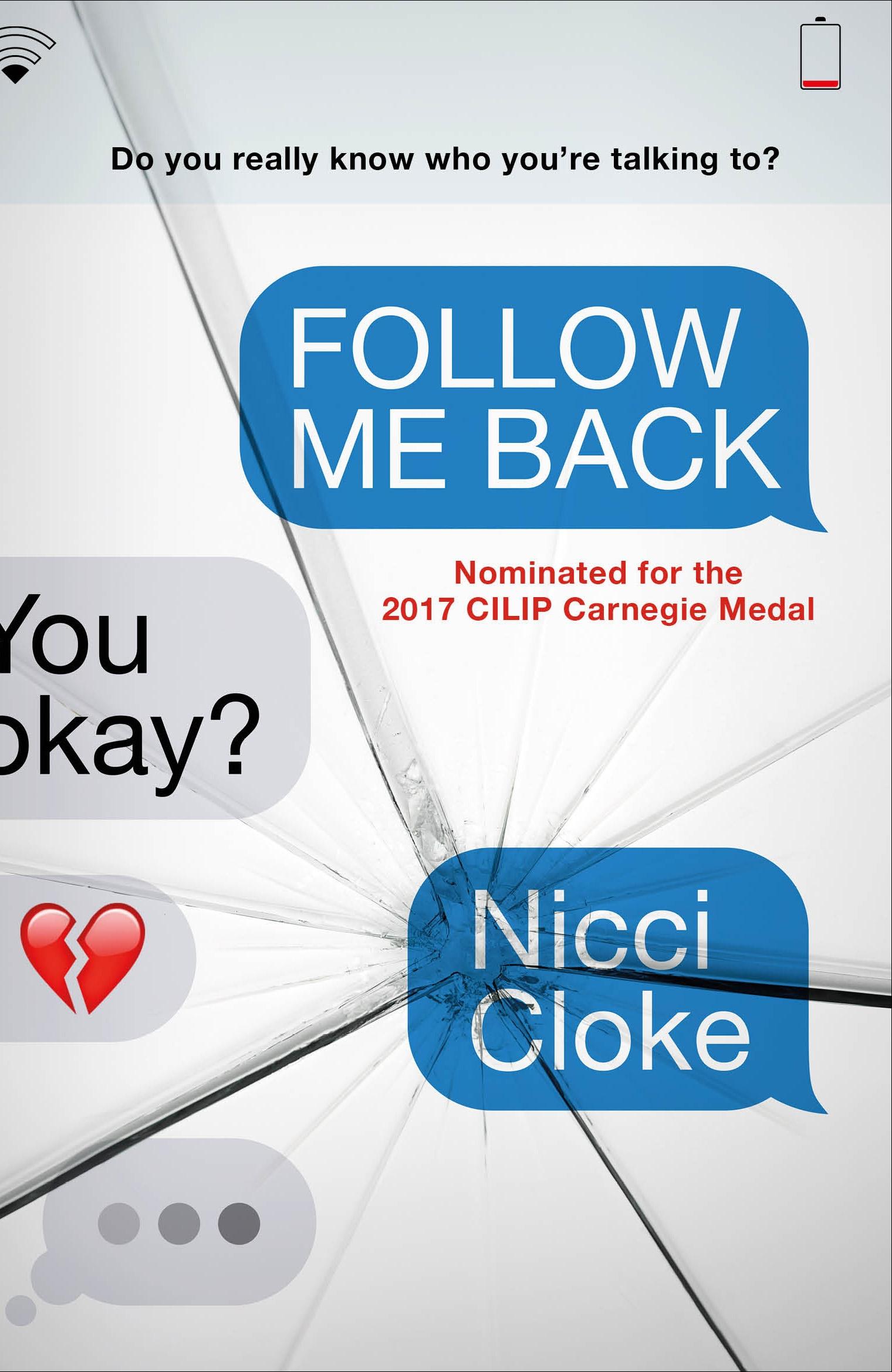 Follow Me Back by Nicci Cloke