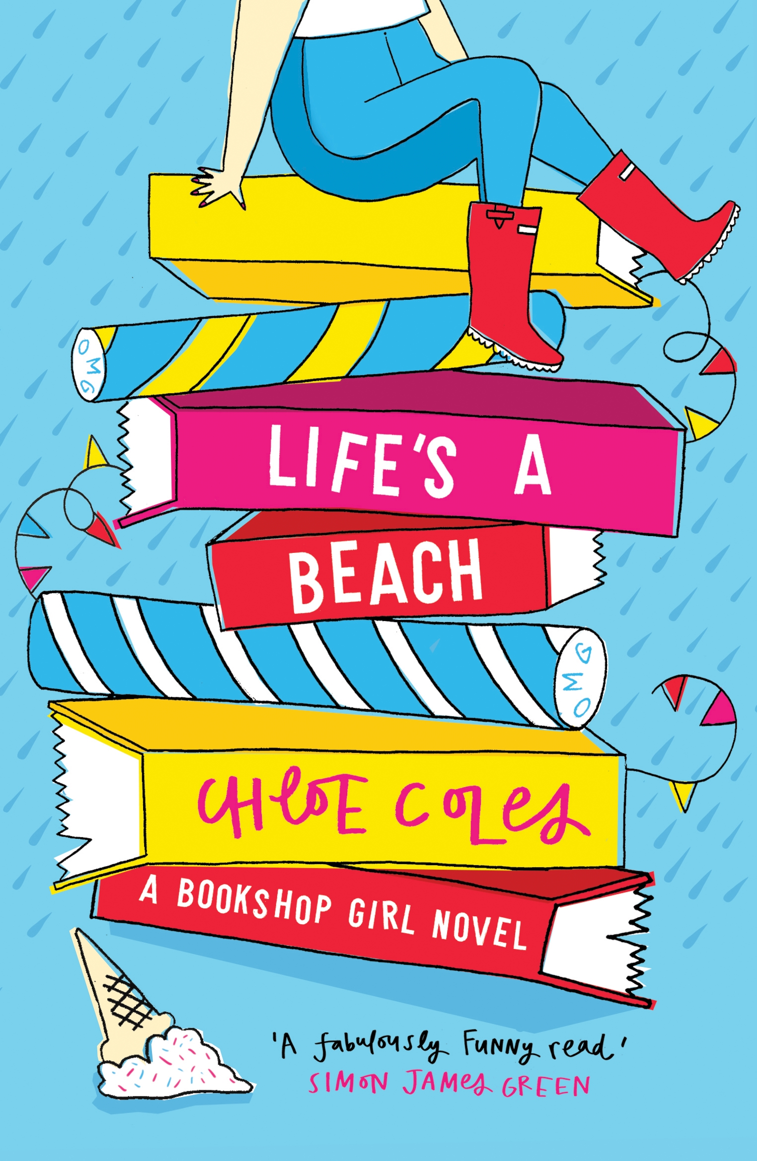 Bookshop Girl: Life's a Beach by Chloe Coles