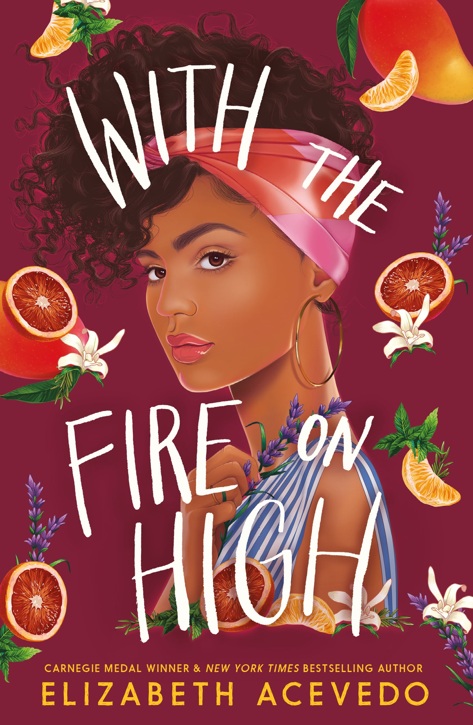 With the Fire on High by Elizabeth Acevedo. A good book for teens ...
