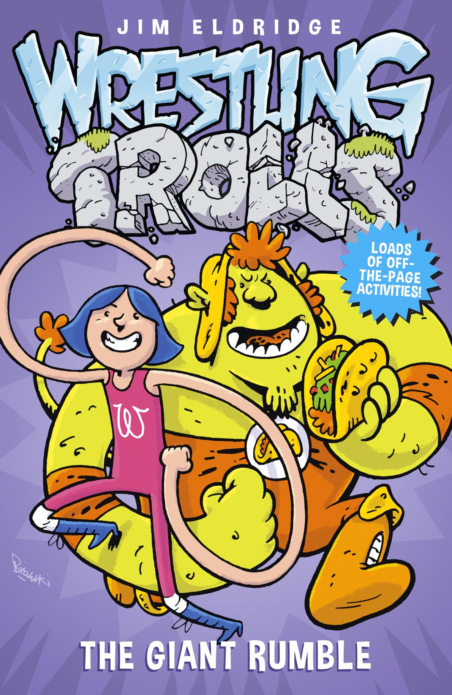 The Giant Rumble by Jim Eldridge