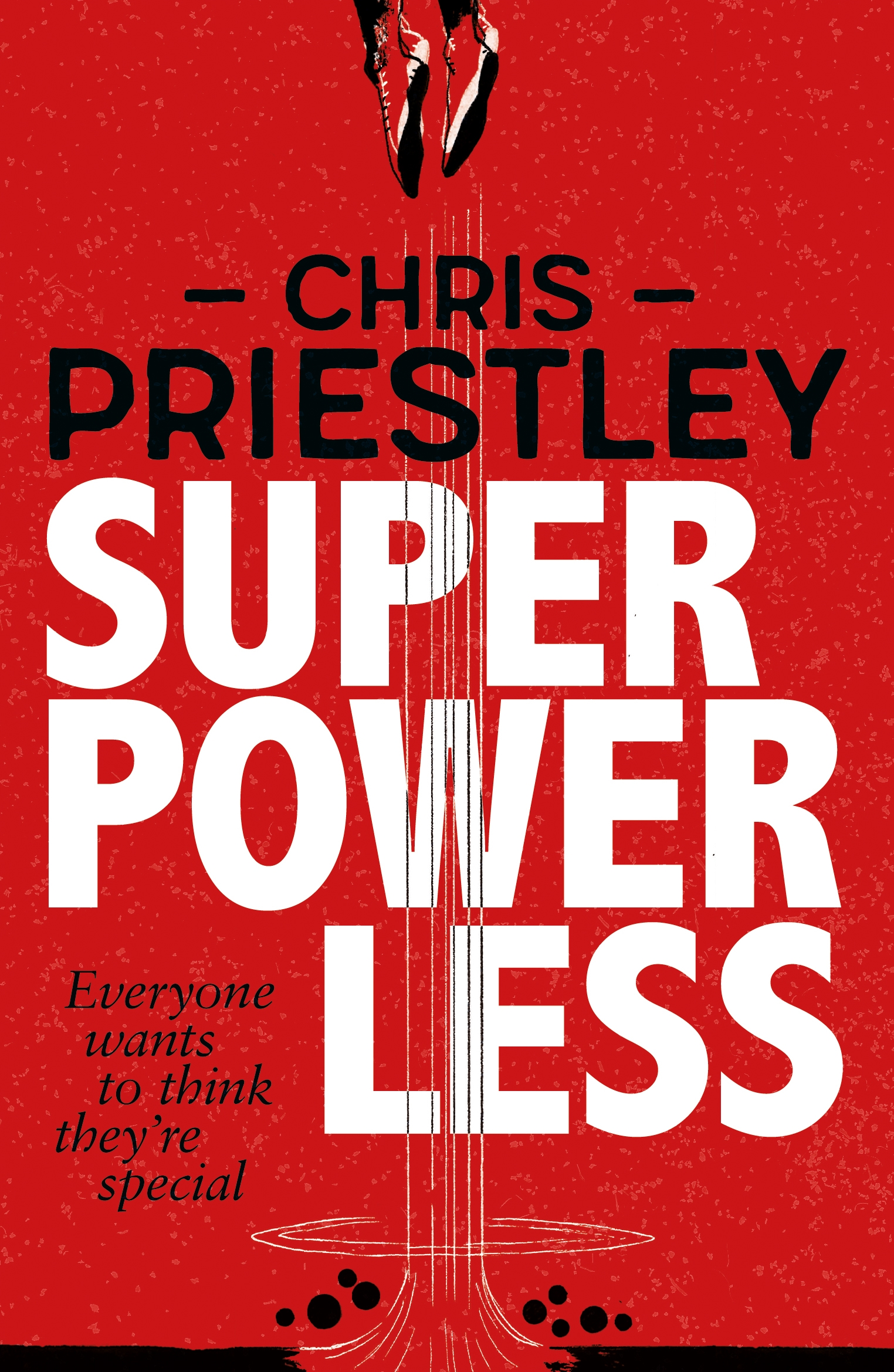 Superpowerless by Chris Priestley