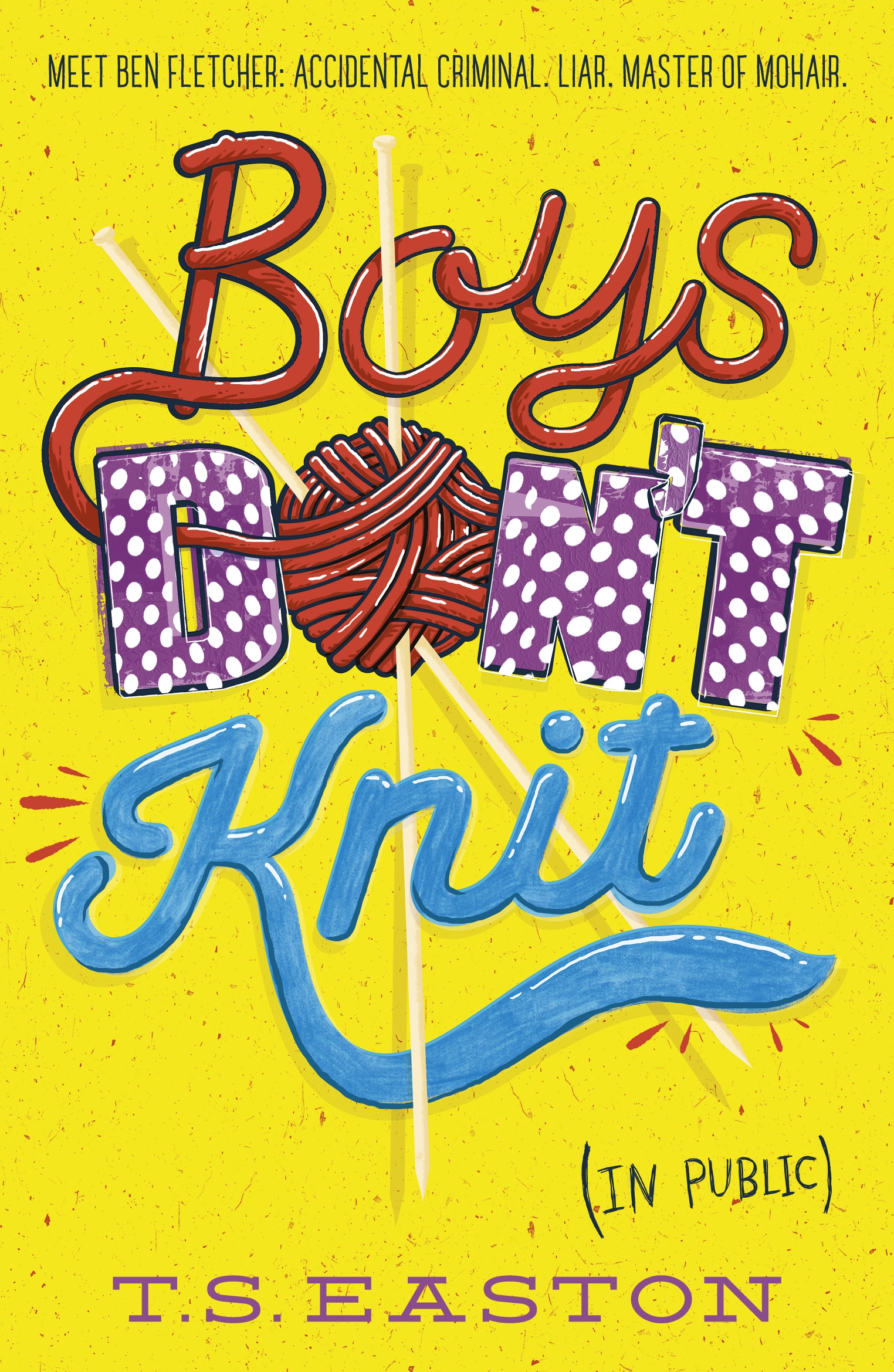 Boys Don't Knit by Tom Easton