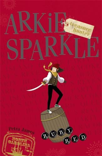 ruby red arkie sparkle treasure hunter 4 james petra
