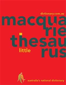 Macquarie Little Thesaurus (PVC)