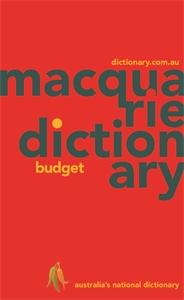 Macquarie Budget Dictionary (PVC)