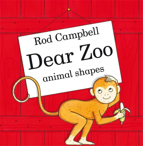 Dear Zoo Animal Shapes - Rod Campbell