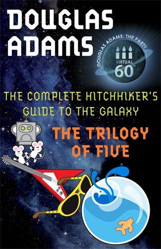 Image result for the hitchhiker's guide to the galaxy complete trilogy