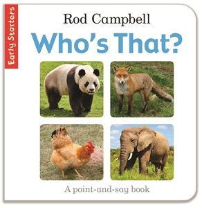 Rod Campbell - Early Starters: Who's That?