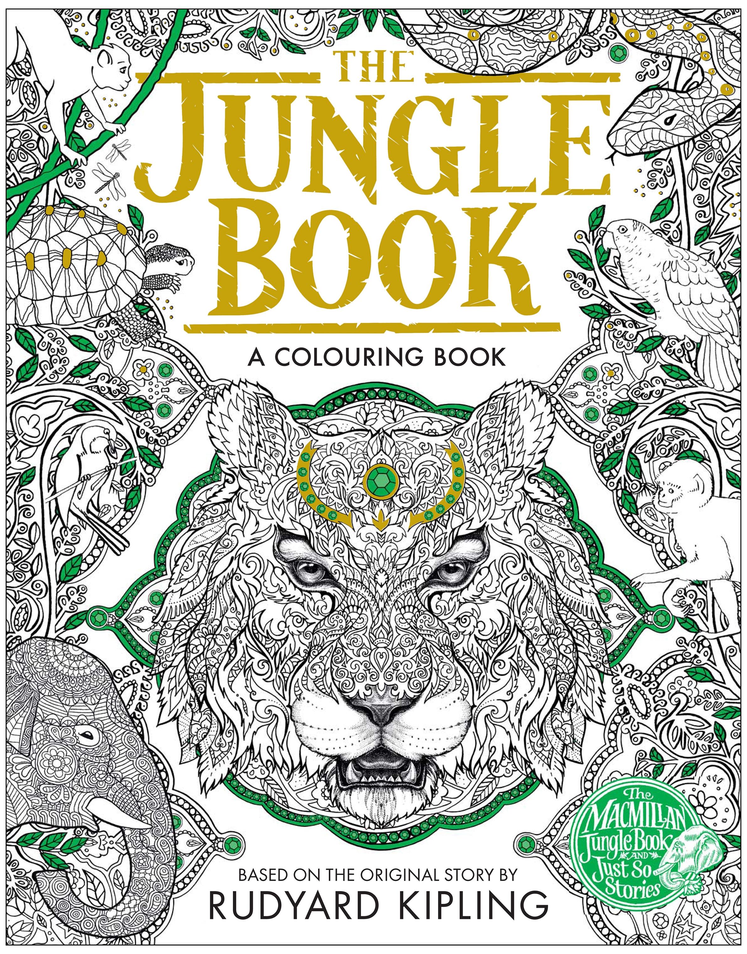 The Jungle Book Colouring