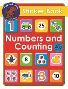 Numbers and Counting Sticker Book