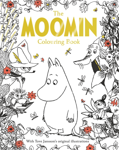 Tove Jansson: Moomin's Mindfulness Colouring