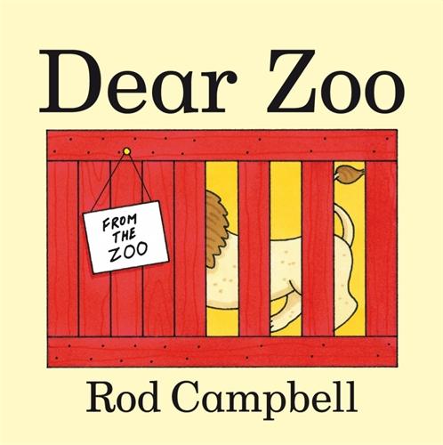 Dear Zoo Big Book - Rod Campbell