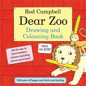 Rod Campbell - The Dear Zoo Drawing and Colouring Book