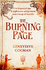 Genevieve Cogman: The Burning Page: The Invisible Library 3