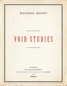 Rachael Boast: Void Studies