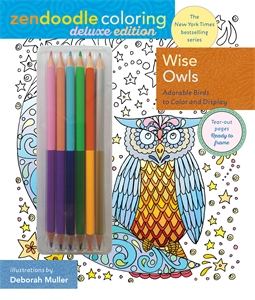 Zendoodle Coloring: Wise Owls