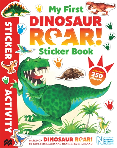Jeanne Willis: My First Dinosaur Roar! Sticker Book
