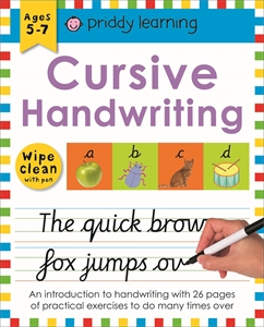 Roger Priddy: Cursive Handwriting