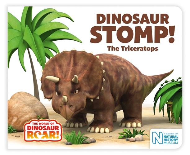 Jeanne Willis: Dinosaur Stomp! The Triceratops