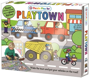 Roger Priddy: Playtown Puzzle Playset